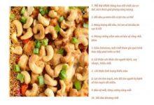 Lợi ích của hạt điều đối với sức khỏe